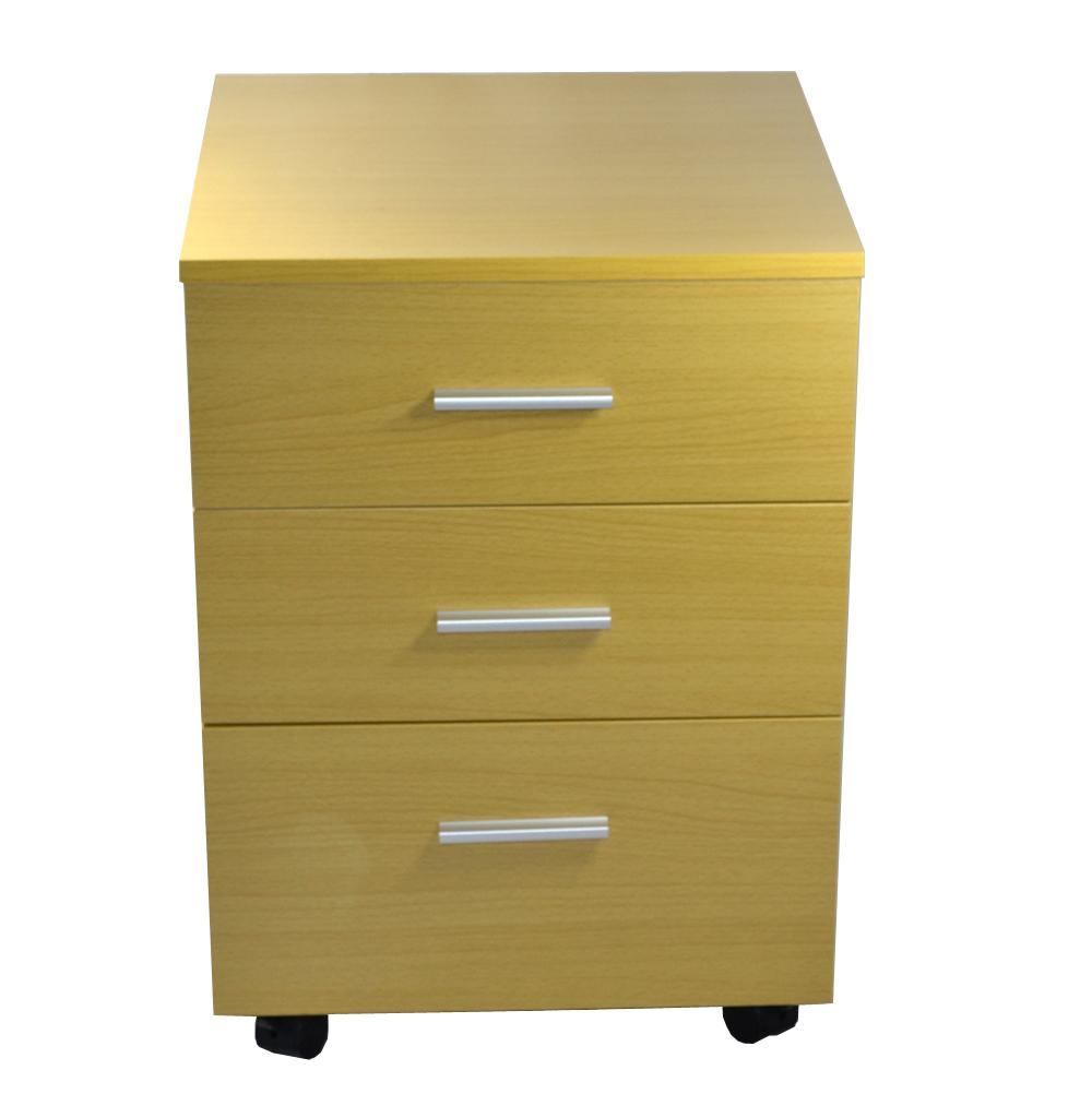 Schreibtisch computertisch b rotisch schubladen for Schreibtischplatte buche