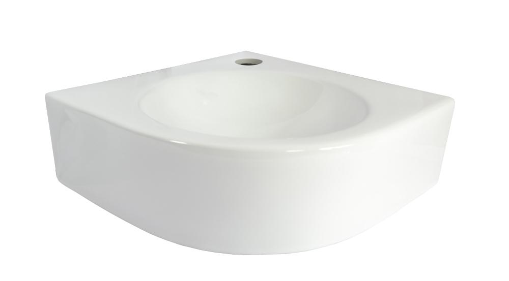 Mueble Lavabo Esquinero.Detalles De Lavabo Esquinero Lavabo Ceramico Ecke Ceramica Oval Montaje Pared Pared Lavabo